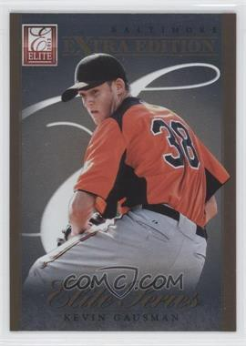2012 Elite Extra Edition - Elite Series #12 - Kevin Gausman