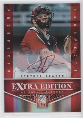 2012 Elite Extra Edition - Prospects Autographs - Red Ink [Autographed] #117 - Stryker Trahan /25