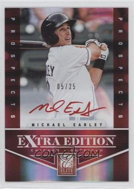 2012 Elite Extra Edition - Prospects Autographs - Red Ink [Autographed] #171 - Michael Earley /25