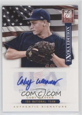 2012 Elite Extra Edition - USA Baseball 15U Team Signatures #20 - Coby Weaver /125