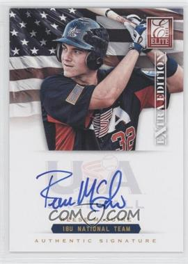 2012 Elite Extra Edition - USA Baseball 18U Team Signatures #RM - Reese McGuire /299