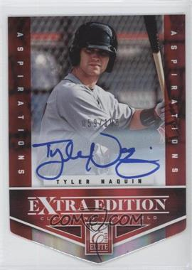 2012 Elite Extra Edition Aspirations Die-Cut Signatures [Autographed] #110 - Tyler Naquin /100