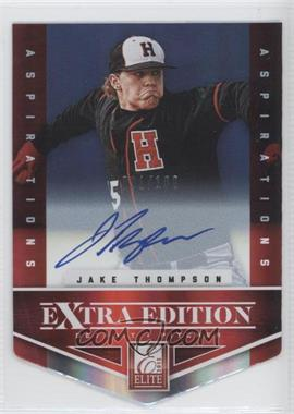 2012 Elite Extra Edition Aspirations Die-Cut Signatures [Autographed] #137 - Jake Thompson /100