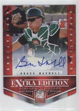 2012 Elite Extra Edition Aspirations Die-Cut Signatures [Autographed] #145 - Bruce Maxwell /100