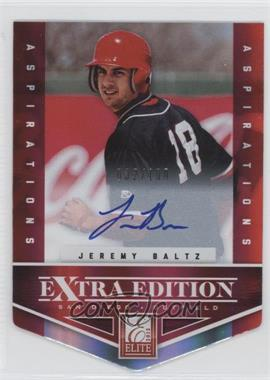 2012 Elite Extra Edition Aspirations Die-Cut Signatures [Autographed] #156 - Jeremy Baltz /100