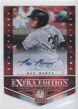 2012 Elite Extra Edition Aspirations Die-Cut Signatures [Autographed] #167 - Max Muncy /100