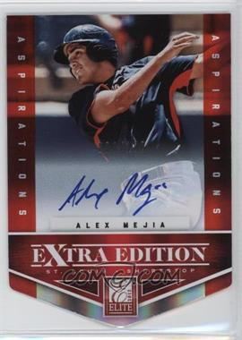 2012 Elite Extra Edition Aspirations Die-Cut Signatures [Autographed] #169 - Alex Mejia /100
