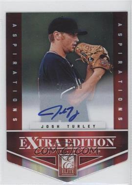 2012 Elite Extra Edition Aspirations Die-Cut Signatures [Autographed] #184 - Josh Turley /100