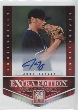2012 Elite Extra Edition Aspirations Die-Cut Signatures [Autographed] #184 - Josh Turley /100