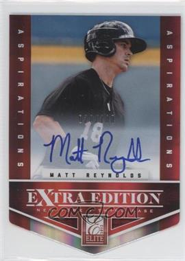 2012 Elite Extra Edition Aspirations Die-Cut Signatures [Autographed] #192 - Matt Reynolds /100