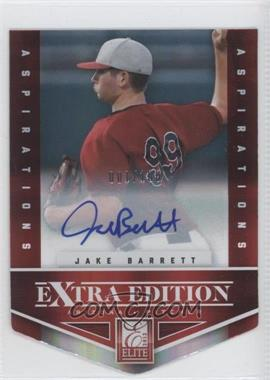 2012 Elite Extra Edition Aspirations Die-Cut Signatures [Autographed] #40 - Jake Barrett /100