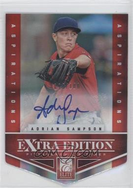 2012 Elite Extra Edition Aspirations Die-Cut Signatures [Autographed] #56 - Adrian Sampson /100
