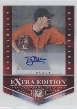 2012 Elite Extra Edition Aspirations Die-Cut Signatures [Autographed] #60 - Ty Blach /100