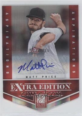 2012 Elite Extra Edition Aspirations Die-Cut Signatures [Autographed] #81 - Matt Price /100