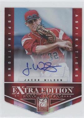 2012 Elite Extra Edition Aspirations Die-Cut Signatures [Autographed] #97 - Jacob Wilson /100