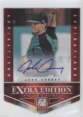 2012 Elite Extra Edition Aspirations Die-Cut Signatures [Autographed] #99 - Josh Conway /100
