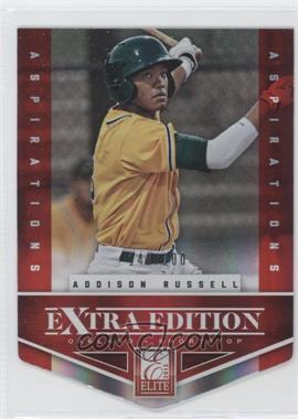 2012 Elite Extra Edition Aspirations Die-Cut #1 - Addison Russell /200