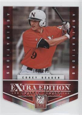 2012 Elite Extra Edition Aspirations Die-Cut #113 - Corey Seager /200