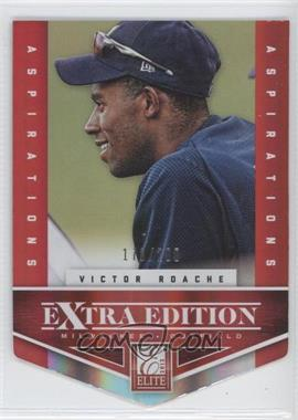 2012 Elite Extra Edition Aspirations Die-Cut #114 - Victor Roache /200