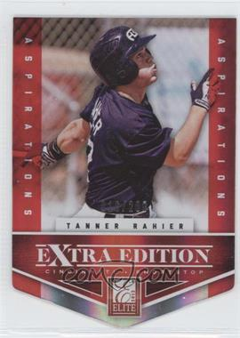 2012 Elite Extra Edition Aspirations Die-Cut #141 - Tanner Rahier /200