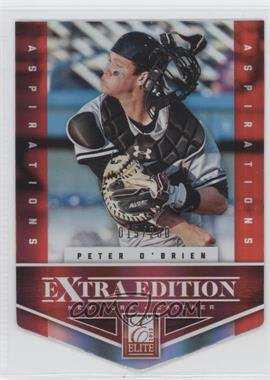 2012 Elite Extra Edition Aspirations Die-Cut #163 - Peter O'Brien /200