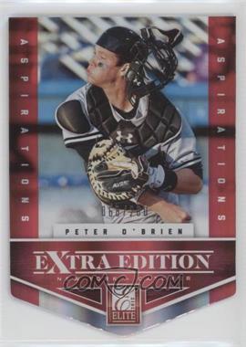 2012 Elite Extra Edition Aspirations Die-Cut #163 - Peter O'Brien /200
