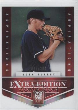2012 Elite Extra Edition Aspirations Die-Cut #184 - Josh Turley /200