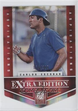 2012 Elite Extra Edition Aspirations Die-Cut #190 - Carlos Escobar /200