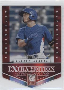 2012 Elite Extra Edition Aspirations Die-Cut #2 - Albert Almora /200