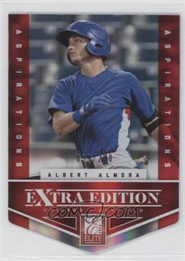 2012 Elite Extra Edition Aspirations Die-Cut #2 - Albert Almora /200