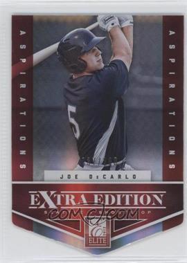 2012 Elite Extra Edition Aspirations Die-Cut #24 - Joe DeCarlo /200