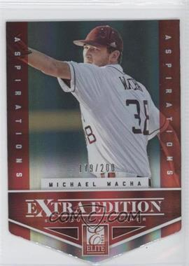 2012 Elite Extra Edition Aspirations Die-Cut #4 - Michael Wacha /200