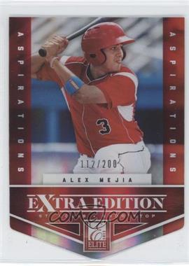 2012 Elite Extra Edition Aspirations Die-Cut #48 - Alex Mejia /200