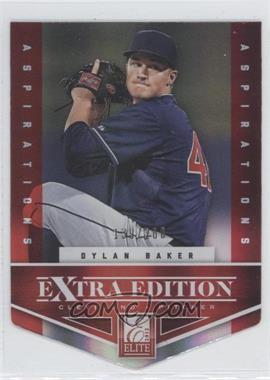 2012 Elite Extra Edition Aspirations Die-Cut #58 - Dylan Baker /200