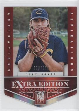 2012 Elite Extra Edition Aspirations Die-Cut #61 - Cory Jones /200