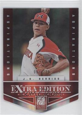 2012 Elite Extra Edition Aspirations Die-Cut #88 - J.O. Berrios /200
