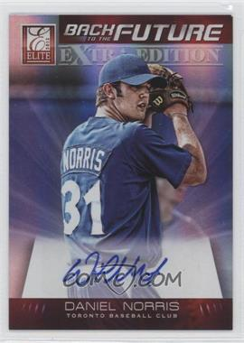 2012 Elite Extra Edition Back to the Future Signatures #12 - Daniel Norris /290