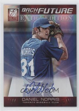 2012 Elite Extra Edition Back to the Future Signatures #12 - Daniel Norris /290