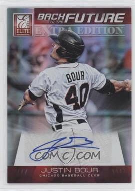 2012 Elite Extra Edition Back to the Future Signatures #13 - Justin Bour /499