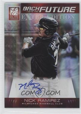 2012 Elite Extra Edition Back to the Future Signatures #17 - Nick Ramirez /47