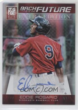 2012 Elite Extra Edition Back to the Future Signatures #18 - Eddie Rosario /699