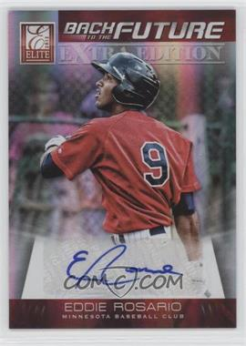 2012 Elite Extra Edition Back to the Future Signatures #18 - Eddie Rosario /699