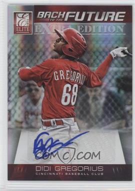 2012 Elite Extra Edition Back to the Future Signatures #20 - Didi Gregorius /621