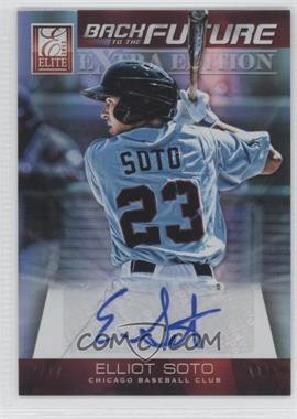 2012 Elite Extra Edition Back to the Future Signatures #8 - Elliot Soto /649