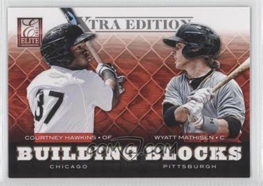2012 Elite Extra Edition Building Blocks Dual #10 - Courtney Hawkins, Wyatt Mathisen