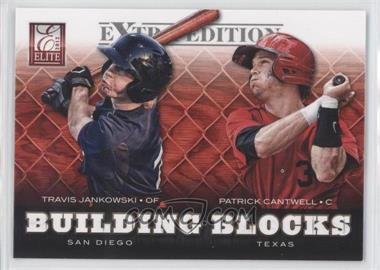 2012 Elite Extra Edition Building Blocks Dual #13 - Patrick Cantwell, Travis Jankowski