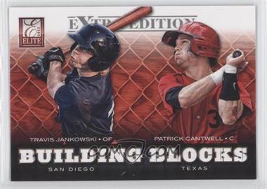 2012 Elite Extra Edition Building Blocks Dual #13 - Patrick Cantwell, Travis Jankowski