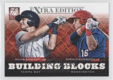 2012 Elite Extra Edition Building Blocks Dual #16 - Richie Shaffer, Spencer Kieboom