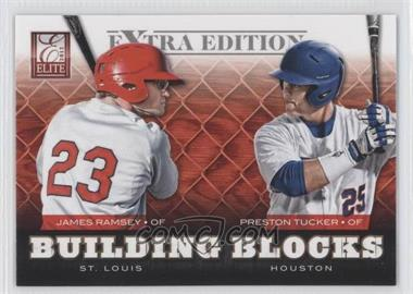2012 Elite Extra Edition Building Blocks Dual #17 - Preston Tucker, James Ramsey