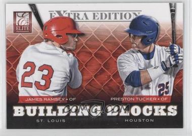 2012 Elite Extra Edition Building Blocks Dual #17 - Preston Tucker, James Ramsey